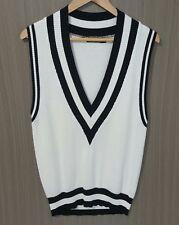 ROSEBULLET Wool-Blend V-Neck Sweater Vest - Size 10