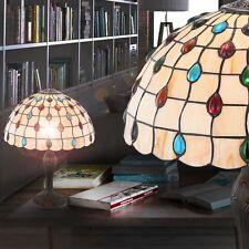 Chambre à Coucher Table de Chevet Lampe Ancien Art Nouveau Tiffany Technologie