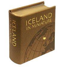 ICELAND IN MINIATURE, (miniature book)