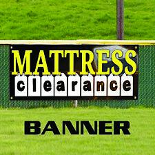Mattress Clearance Furniture Bed Decor Novelty Indoor Outdoor Vinyl Banner Sign