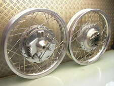 RUOTA ANTERIORE RUOTA POSTERIORE FRENO A TAMBURO TOP! FRONT + REAR DRUM BRAKE WHEEL XS 650 SR 500