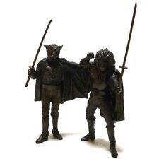 KAIKETSU LION-MARU & TIGER JOE Konami Bronzy Figure Set P-Pro Ninja Hero Toy Use