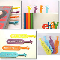 4X Funny Help Me Bookmarks Note Pad Memo Stationery Book Mark Novelty Gift