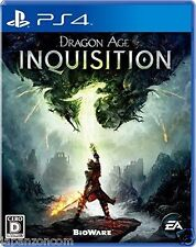 Used PS4 DRAGON AGE INQUISITION SONY PLAYSTATION 4   JAPANESE JAPONAIS IMPORT