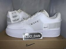 🔥 Nike Air Force 1 Type N354 Triple White - UK9 / US10 - Brand New 🔥