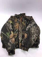 Woolrich Camo Hunting Jacket Quilted Fleece Lining Mens XL