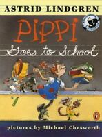 Pippi Goes to School: Picture Book (Paperback or Softback)