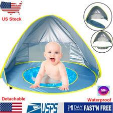 Outdoor Pop Up Baby Beach Tent Sun Shelter Portable Uv Protection Shade Cabana