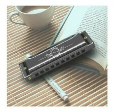 Harmonica, Key of C 10 Holes 20 Tones Blues Harmonica Perfect Gift