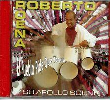 Roberto Roena y Su Apollo Sound  El Pueblo pide que Toque  BRAND  NEW SEALED  CD