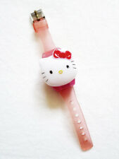 VINTAGE SANRIO HELLO KITTY Pink Adjustable Ring Digital Watch DOES NOT WORK
