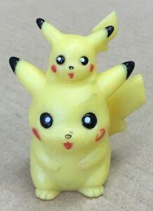 1998 Pokemon Finger Puppet Pikachu Figure Gotta Catch Them All Nintendo Bandai