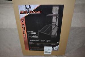 BIG GAME The Captain XL BGM-FP0100 Tree Stand NIB