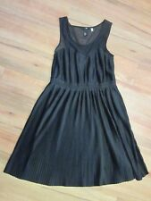 H&M Size S [APPROX  10] Ladies Black Dress