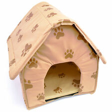Portable Travel Dog House Folding Pet Kennel Soft Cat Puppy Indoor Outdoor Bed