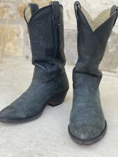 Stewart Boot Company Vintage Sueded Bull Sholder