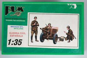 (195) 1990's BUM (Barcelona Universal Models) 1/35th Spanish Artillery