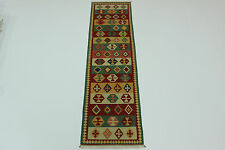 nomades Kelim très bien pièce unique PERSAN TAPIS d'Orient 3,01 x 0,80