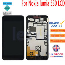 For Nokia lumia 530 Replacement LCD Display&Touch Screen Digitizer + Frame