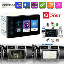 "7"" Android8.1 2Din RAM 1GB ROM 16GB Car Stereo GPS Navi Player WiFi 3G 4G BT DAB"