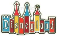 Disney Pin 88777 DLR - Disneyland Logo Retro Castle