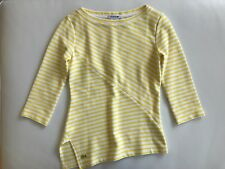 Lacoste Slim Fit Women's Yellow Top Size 34