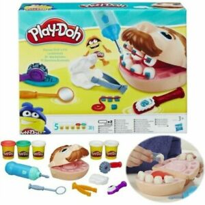 Kids Toys PLAY-DOH Young Doctor Dentist Drill 'n Fill Family Play Teeth Gift