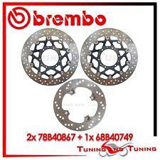 Dischi Freno Anteriore + Posteriore BREMBO HONDA CBR 600 RR 2003 2004 2005 867