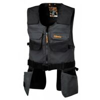 BETA GILET ATTREZZATO EASY CANVAS COD. 7908 TAGLIA M - XL NERO MULTITASCHE WORK