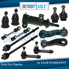 New 13pc Complete Front Suspension Kit for Chevy GMC Sierra 1500  4x4 4WD
