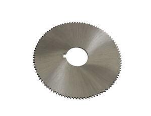 RDGTOOLS HSS SLITTING SAW 80mm diameter 1mm width 22mm bore metric sizes