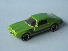 Matchbox 1971 Pontiac Firebird Formula Green Body In BP USA Muscle Toy Model Car