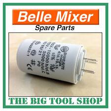 BELLE 10uf 240v CONDENSATORE PER MINI MIX 130 mixer a motore, pezzi di ricambio