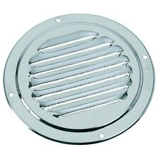 Stainless Steel Round Louvered Boat Vent - 125mm