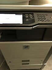 Sharp MX-M363N Copier Printer Scanner Network and finisher only 56k ONLY PICK UP
