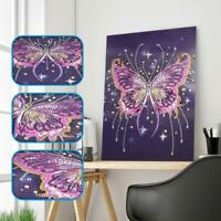 Butterfly DIY 5D Full Drill Diamond Painting Embroidery Cross Stitch Rome Kit