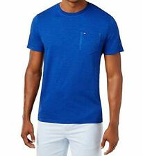 8ad04809a7 Tommy Hilfiger Mens Crew Neck Pocket T-Shirt (XL) Manzarine Blue