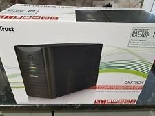 TRUST OXXTRON 1500VA MANAGEMENT UPS BATTERY BACKUP