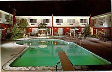 Red Bull Motor Inn Route 9 South Poughkeepsie NY Vintage Postcard Q24