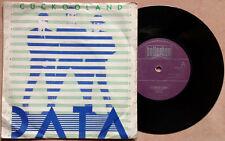 "DATA / CUCKOOLAND - TALK - 7"" (UK 1981) VG++/EX--"