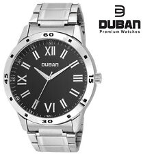 Duban Black Round Dial Wrist Watch for Men/ Boys-USE COUPON-FLAT12OFFF