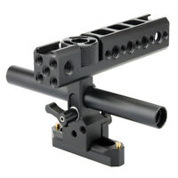 NICEYRIG  NATO Top Handle Grip w/ 15mm Rod Clamp for DSLR Camera Camcorder Cage