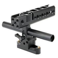 NICEYRIG  NATO Top Handle Grip Nato Rail 15mm Rod for DSLR Camera Camcorder Cage