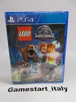 LEGO JURASSIC WORLD - SONY PS4 - NUOVO SIGILLATO NEW VERSIONE ITALIANA