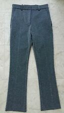 H&M BNWT Ladies Silver Grey  Bootleg Tailored Trousers Size 8 RRP £29.99