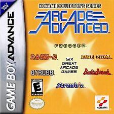 Konami Collector's Series: Arcade Advanced (Nintendo Game Boy Advance, 2002) New
