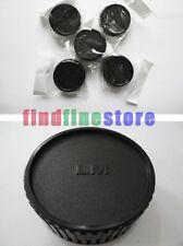 5pcs Rear lens cap cover for Leica M LM camera lens M6 M7 M8 Wholesale lots 5x