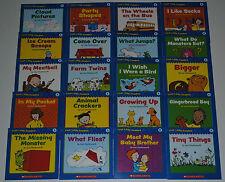 Lot 20 Books Guided Reading Level B Book Set Preschool Kindergarten Homeschool