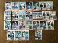 1983 TEXAS RANGERS Topps COMPLETE MLB Card Team Set 25 Cards RIVERS HOUGH BELL!