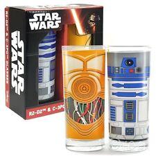 New Star Wars R2-D2 & C-3PO Set Of 2 Glasses Droids Tumbler Lucasfilm Official